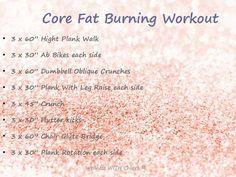 Core Fat Burning Workout