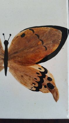 This canvas features one butterfly made of pressed petals and acrylic black paint. The body is made of black acrylic paint and wings are Lily petals. This is finished with clear varnish to seal and preserve the flowers. Black Acrylic Paint, Preserve, Seal, Insects, Wings, Lily, Butterfly, Canvas, Unique Jewelry