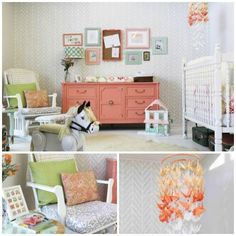 Designer Genevieve Chambliss & team won a design competition with their sweet stenciled nursery using our Get Ziggy With It Stencil!