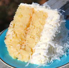 Coconut Pineapple Cake Recipe - RecipeChart.com