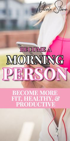 Morning person tip! Find that morning routine! Learn exactly how to become a morning person. Learn how to get up early, get more done, and become happy, healthy and productive. This is the exact strategy you need to become a morning person. How To Become Happy, How To Become Healthy, How To Become Successful, Morning Habits, Morning Routines, Daily Routines, Healthy Morning Routine, Healthy Routines, Coffee Recipes
