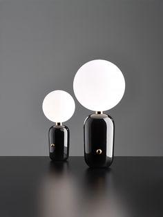 HAYON STUDIO - PARACHILNA ABALLS  Black Table Lamp Group