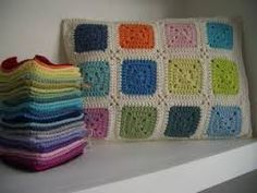 Image result for solid granny square pattern crochet