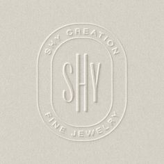 People @ - Blind Embossed monogram crest for A mark that could easily turn into jewelry itself. / We create designs people love at growth agency Collateral Design, Brand Identity Design, Stationery Design, Brochure Design, Branding Design, Logo Branding, Logos, Logo Inspiration, Material Design