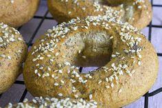 Wheat bagels