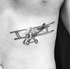 Dotwork Biplane by Ariel Niräkära