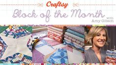 If you're in the mood to make a quilt start with Craftsy Block of the Month.  This is a free class you can watch online at your convenience (very, very important fact).  So far I've watched the Intro and part of the Slashed Blocks (mental note to finish) - looks good.