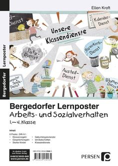 Lernposter Arbeits- und Sozialverhalten 1.-4. Kl. - Poster