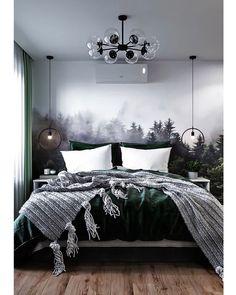 Dream Rooms, Dream Bedroom, Wallpaper Wall, Apartment Makeover, Condo Decorating, Aesthetic Bedroom, My New Room, Interior Design Living Room, Room Inspiration