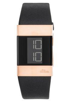s.Oliver Uhr - black für 129,95 € (25.09.16) versandkostenfrei bei Zalando bestellen.