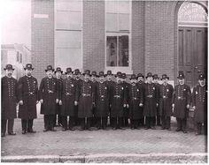 Baltimore policemen, 1884