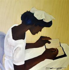 Reading and Art: Shanequa Gay