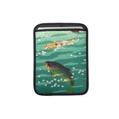 Shiro Kasamatsu Karp Koi fish pond japanese art Sleeve For iPads #japan #japanese #vintage #gift #customizable #fineart #shopping #oriental #koi #fish #karp #shiro #kasamatsu