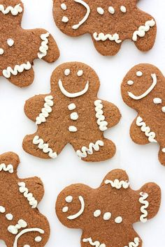 soft and chewy gingerbread cookies.