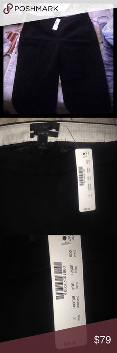J. Crew Size 2 women's dress pants Brand new, tags still on them. Been going through my closet and came across some cute/ nice clothes I'll never fit into again/ wore. So have a look around and if you wanna offer another price you seem better fit I'll consider! But I keep all my clothes smoke and animal free! J. Crew Pants Trousers