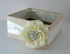 wedding program holder - bigger box or even make into a basket