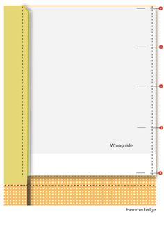 Michael Miller Fabrics' Citron-Gray Nursery: Panel Curtains with Grommets