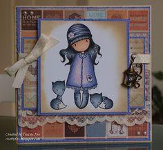 Gorjuss Girl   Fox   a crafty fox
