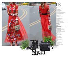 """""""DRESS ,Shein 10/VII"""" by sajra-de ❤ liked on Polyvore"""