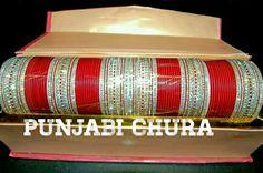 Bridal chura Wedding Chura, Bridal Chura, When I Get Married, I Got Married, Bridal Bangles, Bridal Jewelry, Punjabi Chura, Punjabi Culture, Wedding Rituals