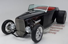 1932 Ford Roadster built by Kindig-it Design