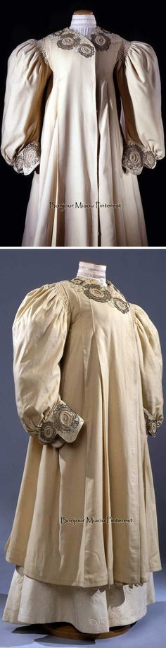 Duster coat, Maison Bazau Robes & Manteaux, Paris, ca. 1910. Costume Gallery of the Pitti Palace via Europeana Fashion