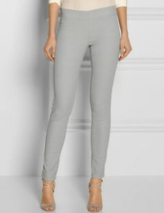 JOSEPH Coated Stretch-Denim Leggings