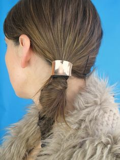 Hello Whimsy DIY METAL PONYTAIL CUFF 髮飾Hair Cuff髮釦 - Ponytail cuff diy