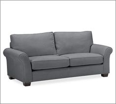 PB Comfort Upholstered Sofa | Pottery Barn