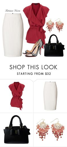 """""""046"""" by tatiana-vieira ❤ liked on Polyvore featuring Coast, Burberry, Lipsy and AtStyle247"""