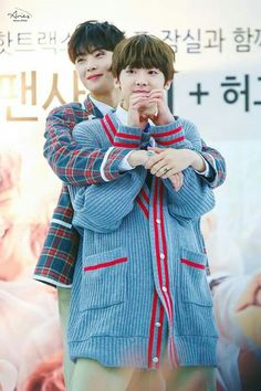Eunwoo and Sanha|pinterest: - ̗̀vdesu ̖́-