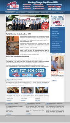 Website development for Friend's plumbing | Our Portfolio | Web development services, search engine optimization, search engine marketing, website analytics, advertising, social networking