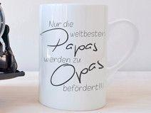 """""""Beförderung zum OPA"""" - Tasse"""