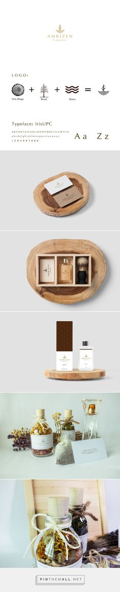 Ambizen fragrance packaging, brand identity on Behance by Eldur Ta, Ho Chi Minh City, Vietnam curated by Packaging Diva PD. Ambizen is a fragrance company which provide mainly oriential woody scent perfume. Products focus on pure ingredients, providing the most comfortable and natural feeling.