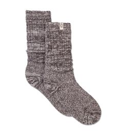 886f5998 UGG® | Rib Knit Slouchy Crew Sock | Women Austin Shoes, Athleisure Wear,