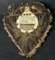 Empress of Ireland ~ Heart Shaped Pin Cushion