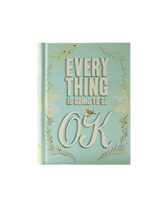 RH BOOK CLUB Everything Is Going To Be OK