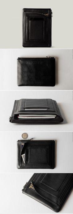 #hardgraft Zip Passport . Black Oil