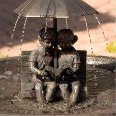 Duncraft.com: Story Time Solar Fountain