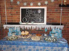Winter Wonderland Baby Shower