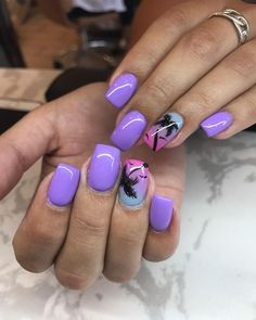 35 Best Summer Beach Nail Designs Ideas You Must Try - Beach Nails Jamaica Nails, Hawaii Nails, Florida Nails, Beach Nail Designs, Cute Summer Nail Designs, Sns Nail Designs, Tropical Nail Designs, Bright Summer Nails, Cute Summer Nails