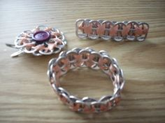 Pop Can Tab Accesories  •  Make a pop tab bracelet in under 20 minutes