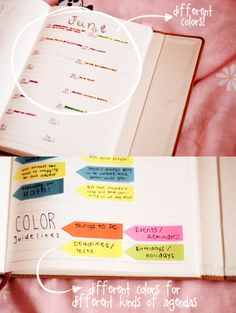 Notebook Ideas | DIY School Notebook Planner from Entering Dreamland Blog | Butterpanda on Tumblr