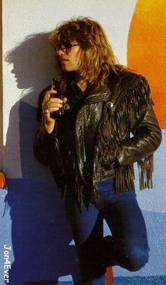 Jon Bon Jovi, Bon Jovi 80s, Rock N Roll, Bon Jovi Pictures, Bon Jovi Always, Shaggy Long Hair, 80s Hair Bands, Van Halen, Hottest Pic