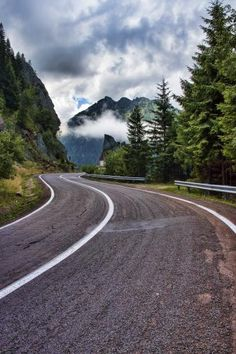 Transfagarasan, Romania - One of the most beautiful roads in the world.