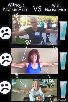 One arm WITH Nerium Firm & the other arm WITHOUT Nerum Firm!!  Wow! www.marasou.theneriumlook.com