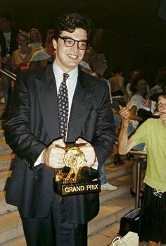 O Marcelo Serpa foi responsável por tornar a Almap, a maior referência de propaganda pra mim - Aqui é ele depois de receber o grand prix em Cannes, 1993