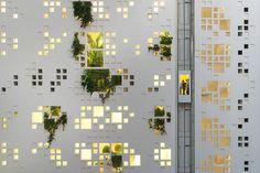 Torre pixelizada é projeto de Jean Nouvel em Chipre