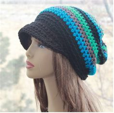 Check out this item in my Etsy shop https://www.etsy.com/listing/508774033/slouchy-newsboy-hat-crochet-newsboy