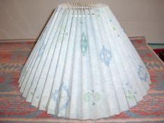 Vintage Southwestern Bito England Pleated Western Table Accent Light Lamp Shade | eBay